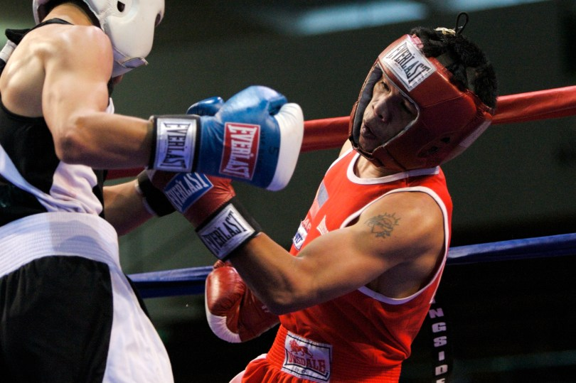 A University of San Francisco boxing match. (University of San Francisco)