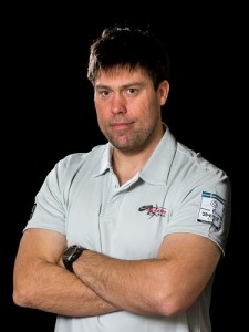 Andrew Simpson, pictured in a photo on the Artemis Racing site.