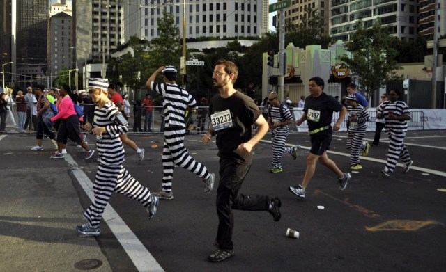 Costumes varied wildly at the event. (Lauren Benichou/KQED)