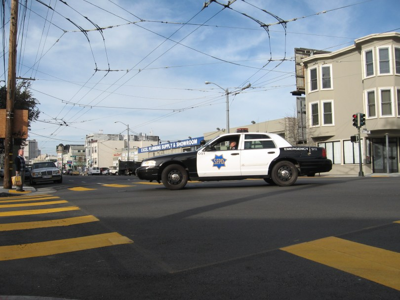 San Francisco Police Department (Andres Barraza/KQED)