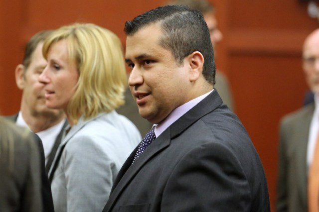 George Zimmerman leaves the courtroom a free man after being found not guilty (Joe Burbank-Pool/Getty Images))