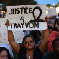 George Zimmerman was found not guilty of the murder of Trayvon Martin on July 13.  (Scott Olson/Getty Images)