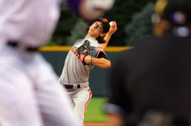 San Francisco Giants' Tim Lincecum (Doug Pensinger / Getty Images)