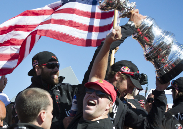 Americas cup win