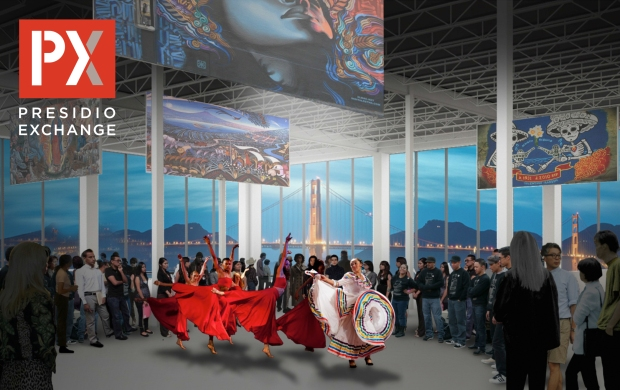 The Presidio Exchange is a proposed cultural center.