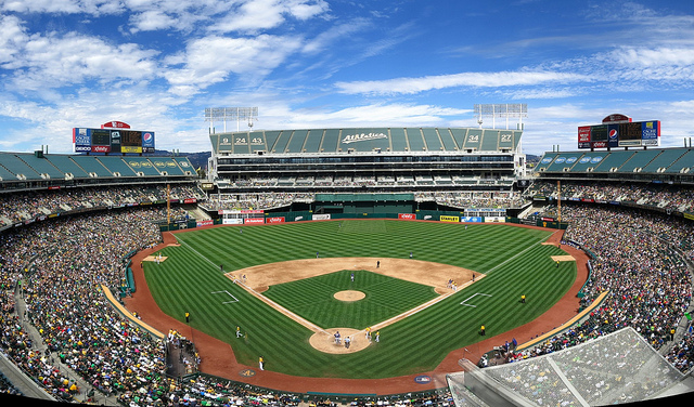 The Oakland A's still played in Oakland in Sept. 2013. Photo: Kwong Yee Cheng/Flickr