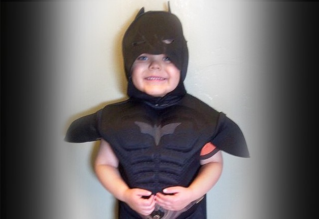 Miles, a leukemia survivor, will get to be Batkid on Friday in San Francisco. (Make-A-Wish Foundation)