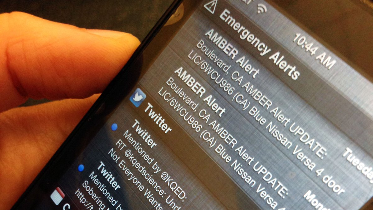 Amber Alerts on Your Cellphones: What You Need to Know