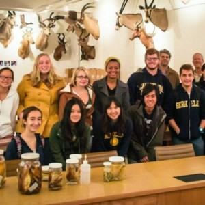 The recently formed Wildlife Society at UC Berkeley. (Courtesy Golden Gate Birder)