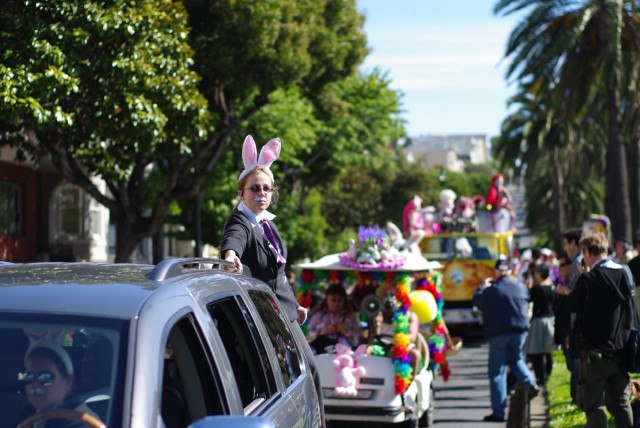 The only place you may want to drive in San Francisco this weekend, is in a parade. (Ed Hunsinger/Flickr)