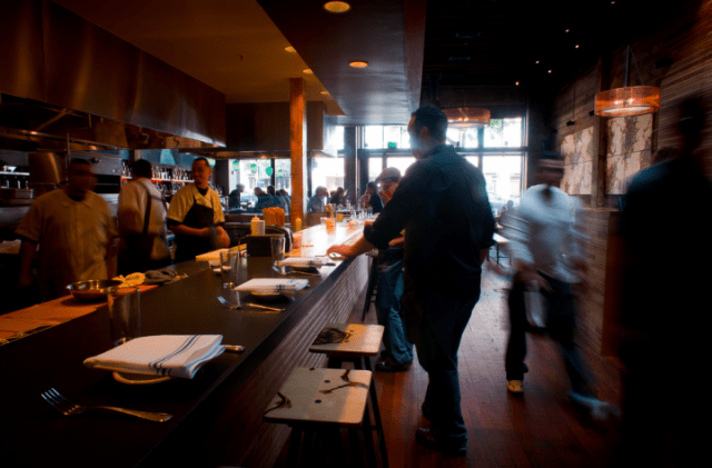The speed of adoption of an increased minimum wage has faced pushback from some restaurateurs in Berkeley. (Postcard PR/Berkeleyside)