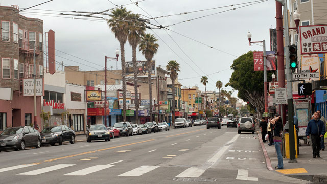 The Mission District is ground zero for tough parking and an incubator for many start-up solutions (Shawn Hoke/Flickr)