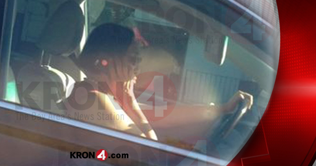 A photo sent into KRON 4 last week of Mayor Quan on a cell phone in her car.