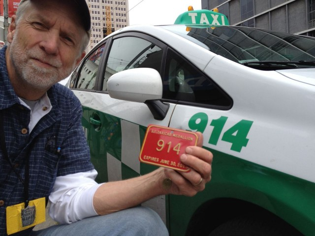 "Brad Newsham, 62, a San Francisco cab driver since 1985, says ""all the recent turmoil drove me out of the industry."" In May, he sold his taxicab medallion, and left a job ""I loved from day one."" (Photo: Brad Newsham)"