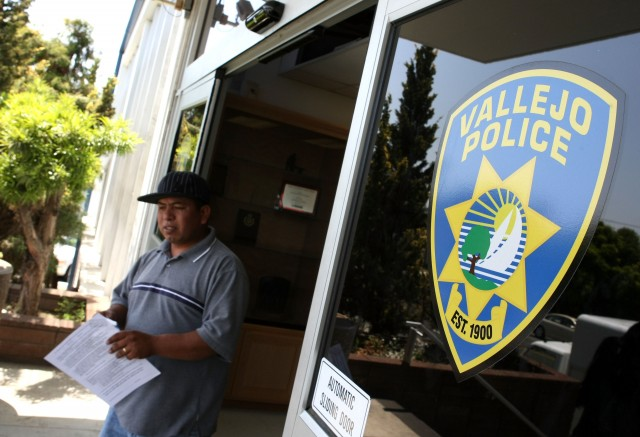 A pattern of officer-involved shootings in Vallejo raise eyebrows. (Justin Sullivan/Getty Images)