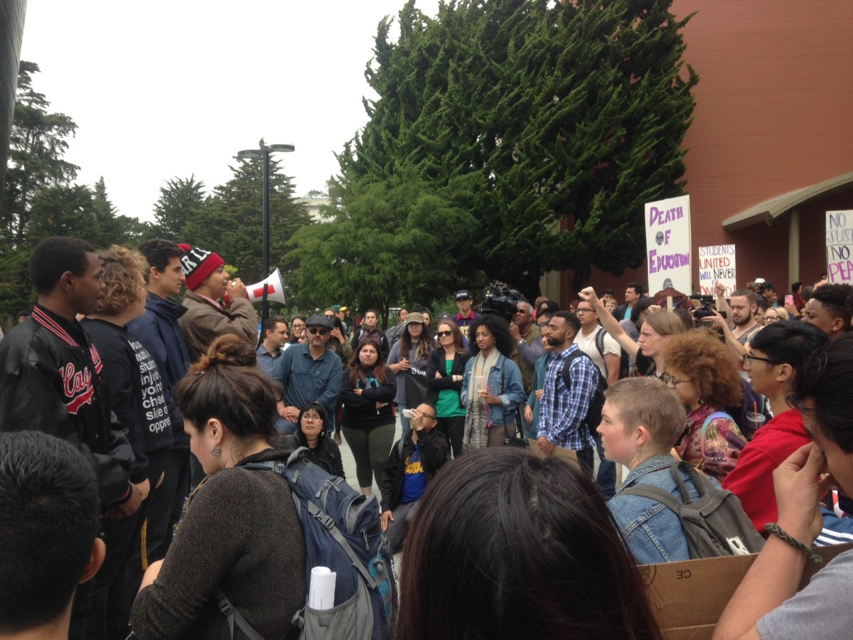 S.F. State Students Go on Hunger Strike for Raise in Ethnic Studies Budget