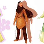 Bay Area Artist Reimagines Disney Characters with the Hijab