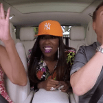 Here's Michelle Obama and Missy Elliott Doing Carpool Karaoke with James Corden