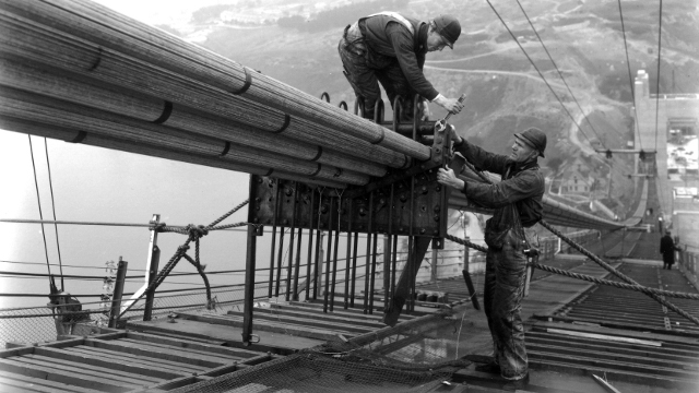 Life on The Gate Working on the Golden Gate Bridge 1933-37 QUEST