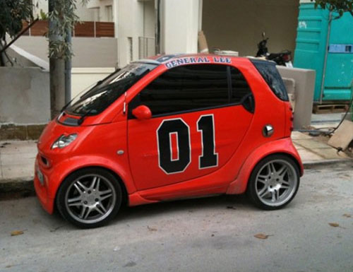 Dukes Of Hazzard Car Wallpaper General Lee Smart Car 187 Funny Bizarre Amazing Pictures