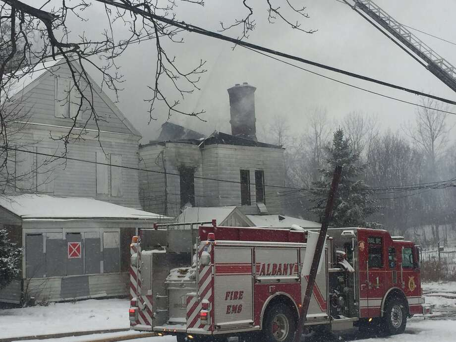 Vacant Albany Home Consumed By Fire Times Union