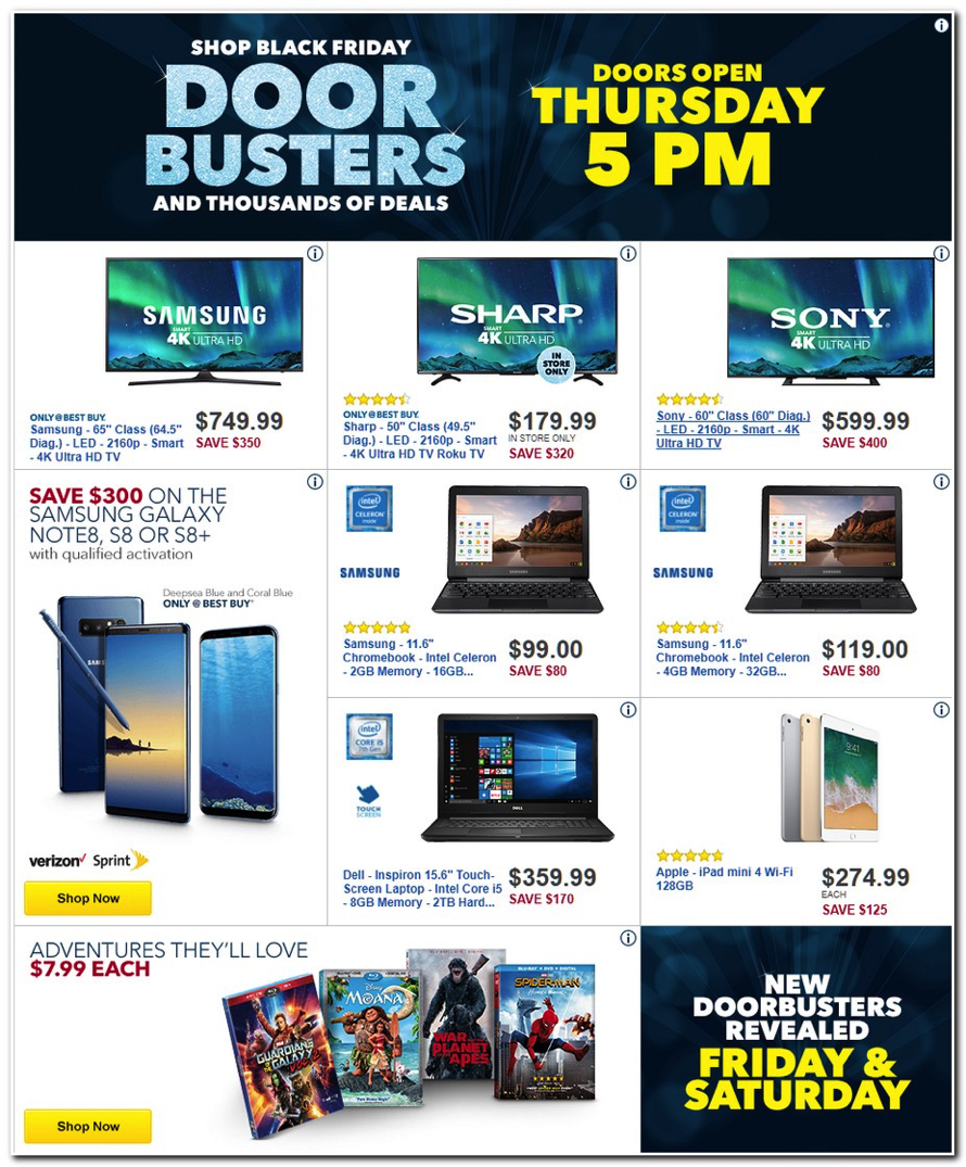 Black Friday Sale 2017 Best Buy Releases Their 2017 Black Friday Ad (see All 50