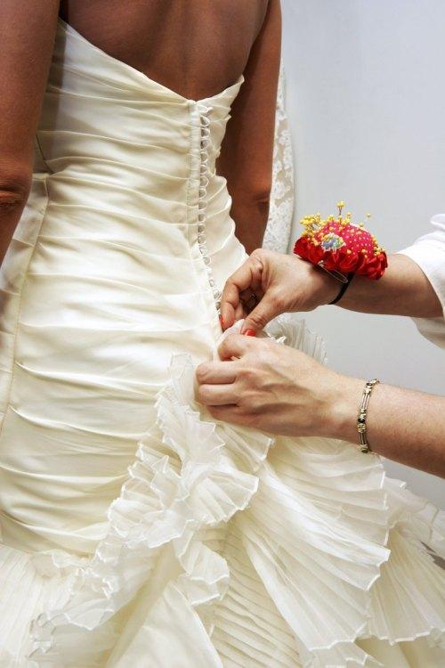 Medium Of Wedding Dress Alterations