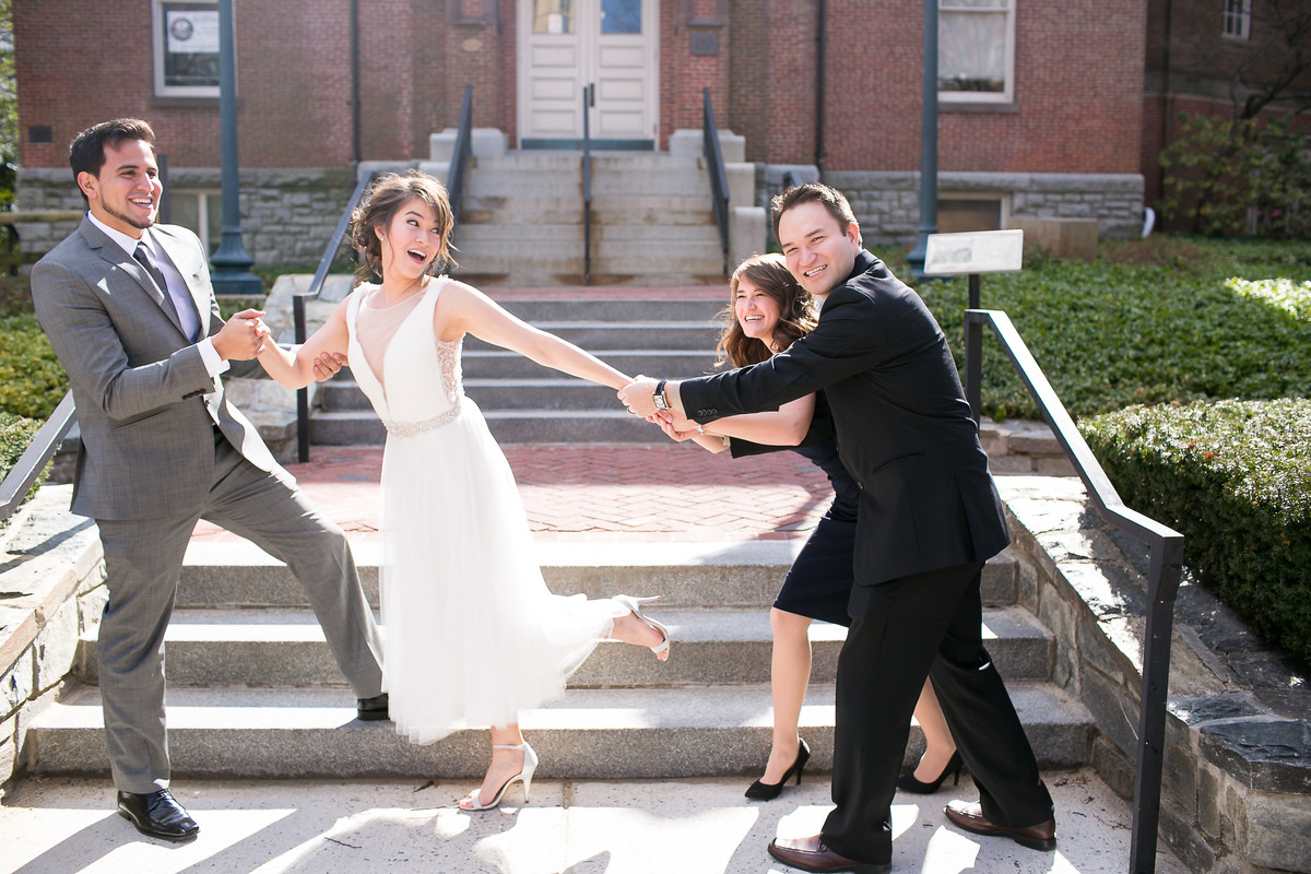 c courthouse wedding dresses Private Maryland Courthouse Wedding Wedding Real Weddings Gallery by WeddingWire Real Weddings 36