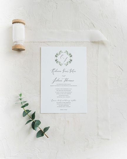 Jade Social - Invitations - Royal Oak, MI - WeddingWire