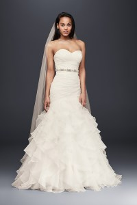 Ruffles Wedding Dress Photos, Ruffles Wedding Dress