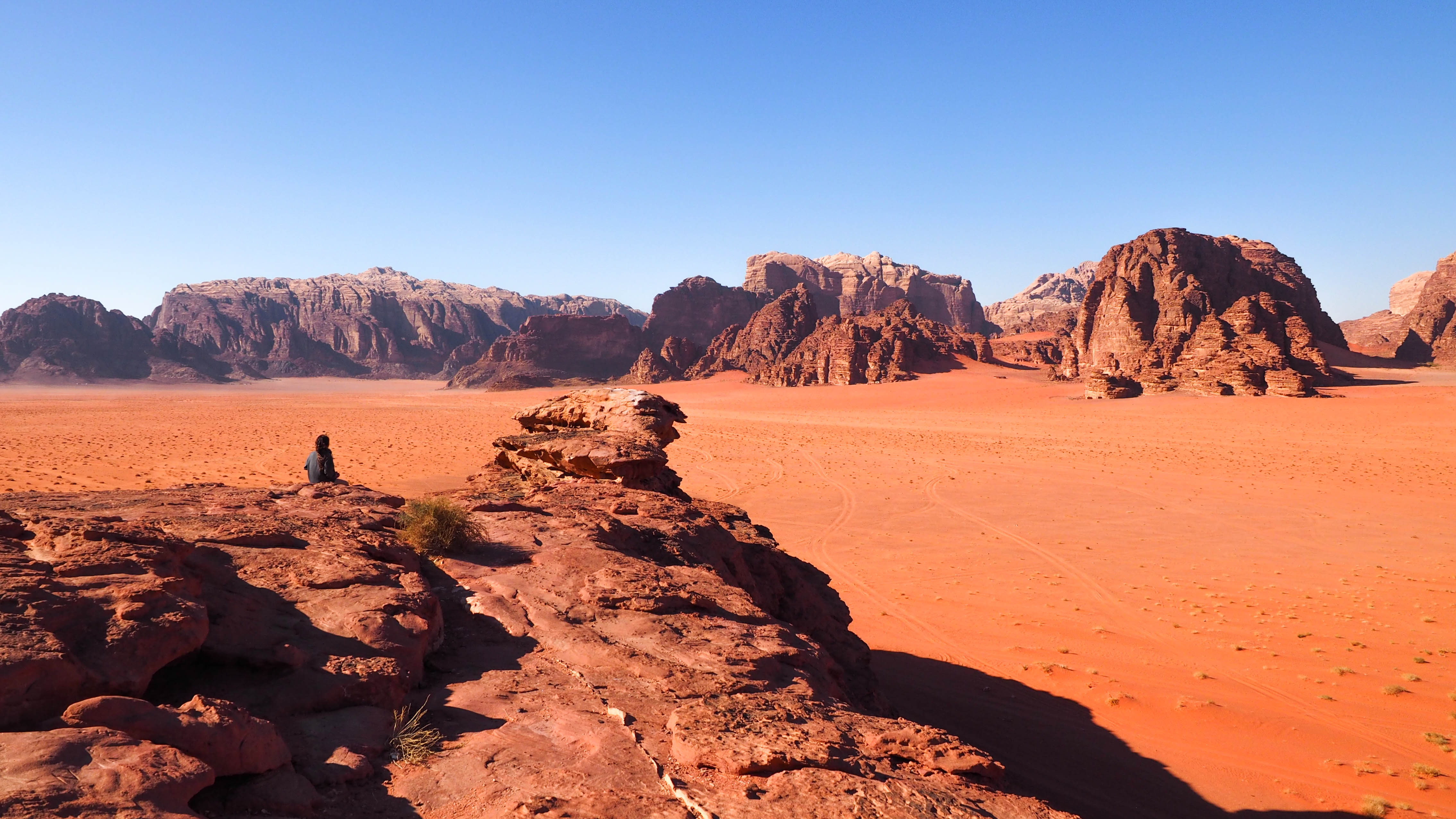 Cute Country Wallpaper Overnight In Wadi Rum Floating In The Dead Sea