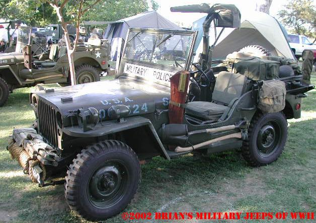G503 Wwii Willys Mbt And Bantam Jeep Trailer Wiring Diagram 1942