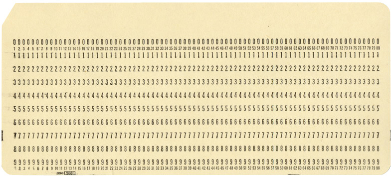 IBM100 - The IBM Punched Card - punch cards