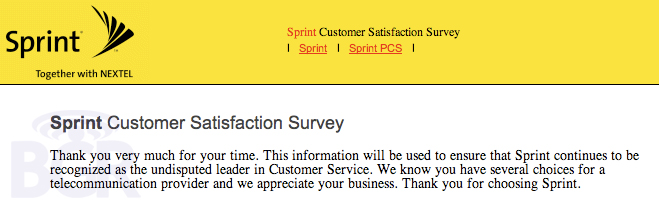 Sprint is the \ - sprint customer care