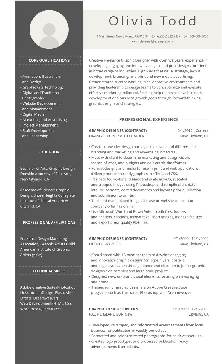 3 Popular Resume Formats That Get Job Offers Why You Cant Get A Job Recruiting Explained By The 99 Free Professional Resume Formats And Designs Livecareer