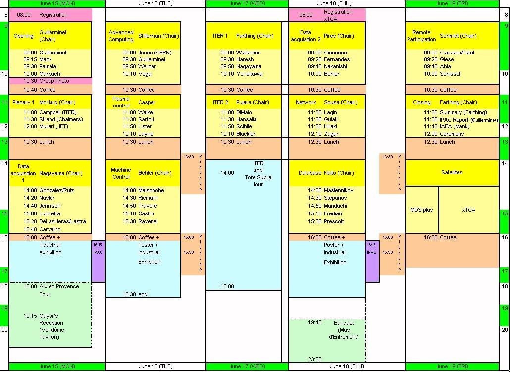 Excel Agenda Template - mandegarinfo