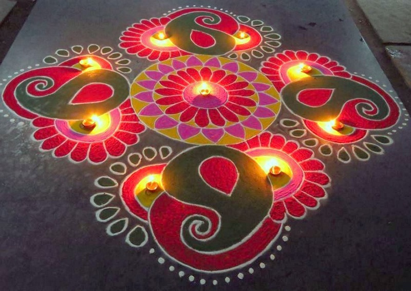 Ugadi Hd Wallpapers Free Download Simple Amp Easy Rangoli Designs For Diwali Freehand 2019