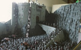 Lego MOC Helm's Deep by Rich-K & Big J .