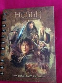 The 2014 Desolation of Smaug Desk Diary.