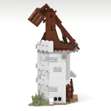 Minas Tirith update horse tower side