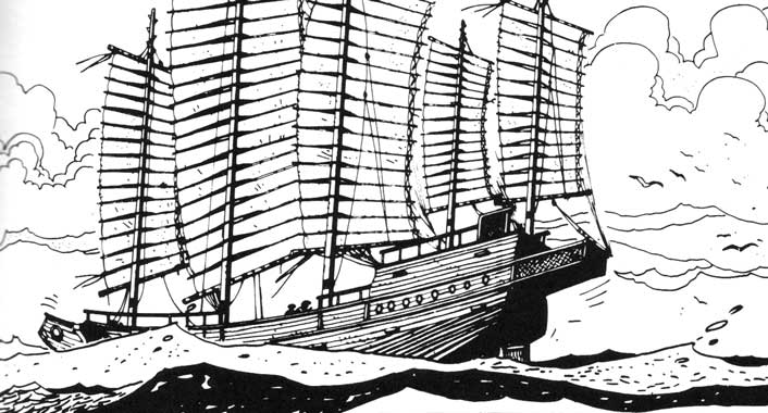 Early Sailing Ships - types of ships