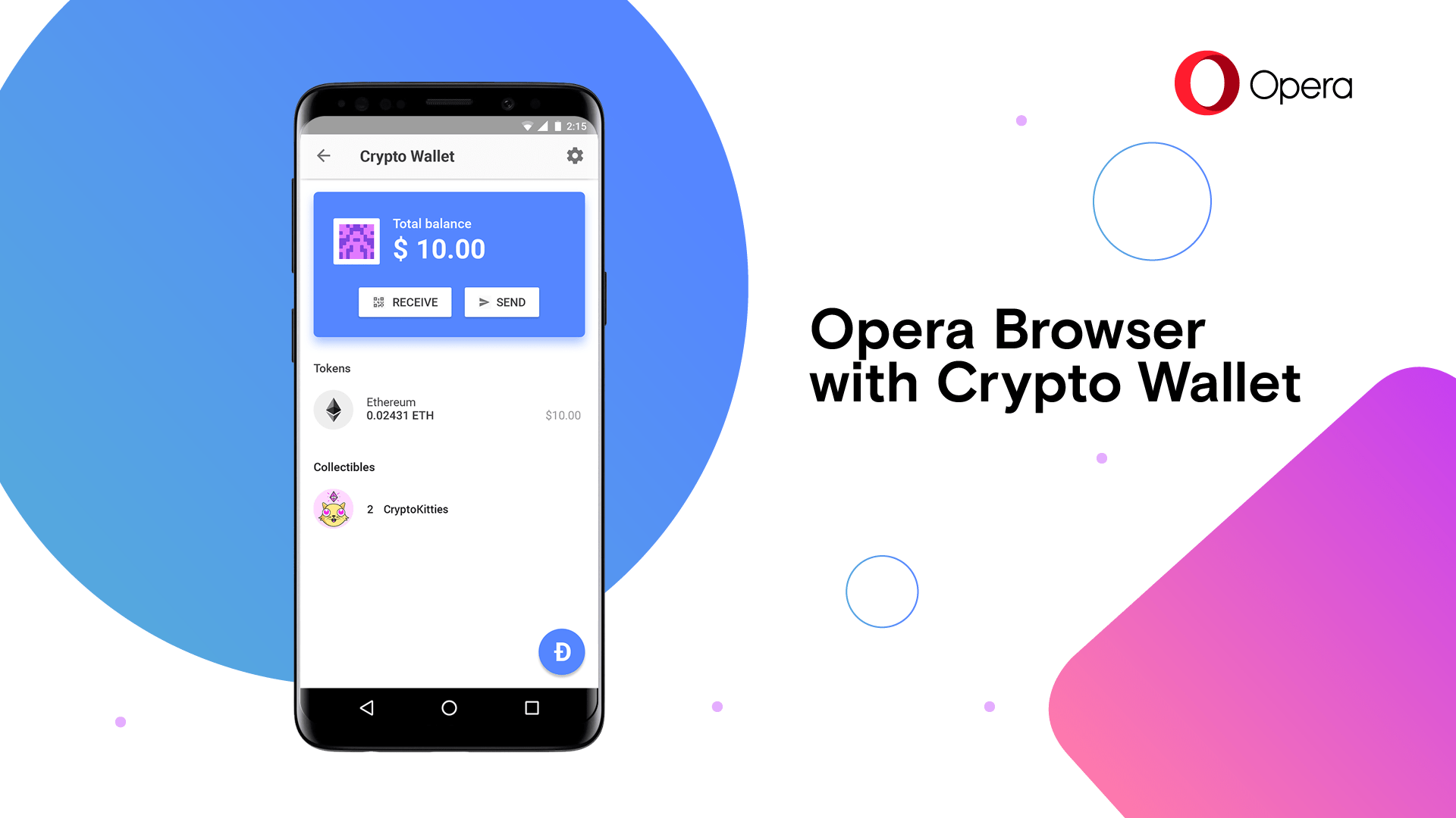 Browser Opera Opera Becomes First Major Browser With Built In Crypto Wallet