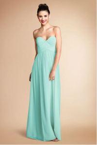 Seafoam Chiffon Bridesmaid Dress Dilemma - Weddingbee