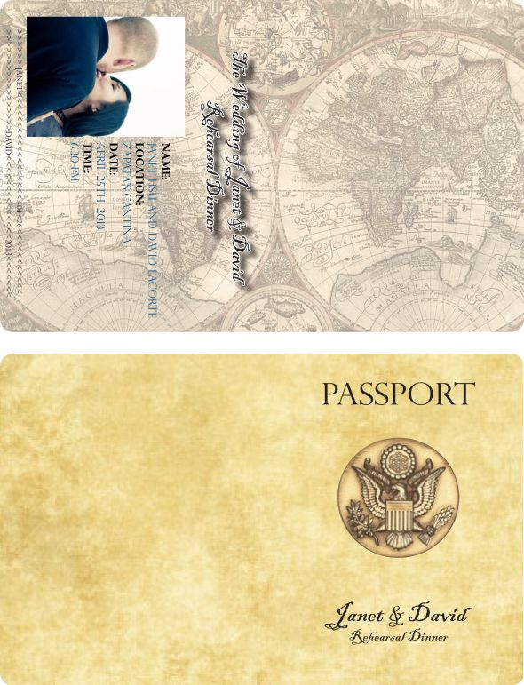Passport Invitation Templates needed please