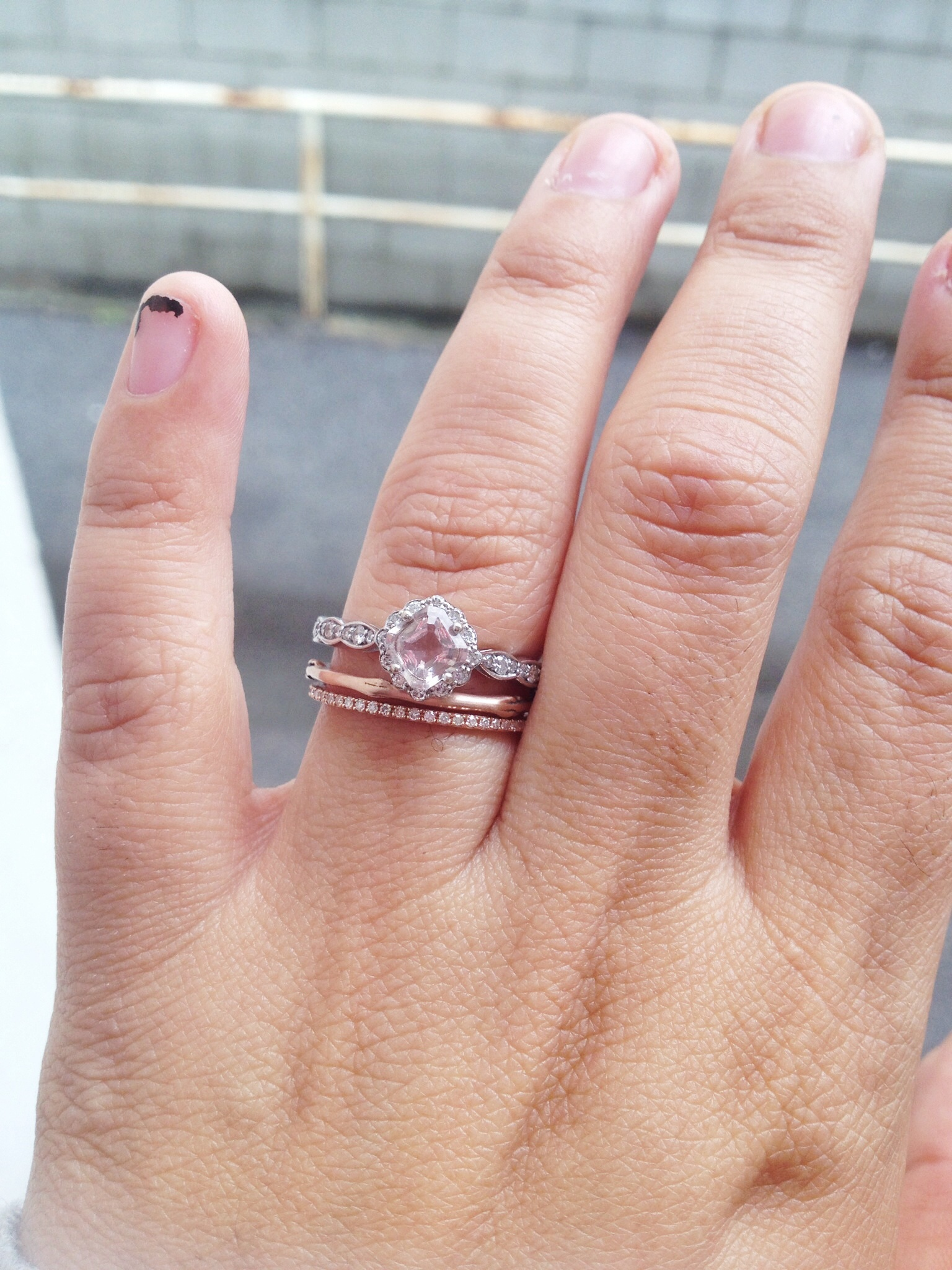 show me your ring guards ring enhancers stacking rings wedding ring wrap Post 4