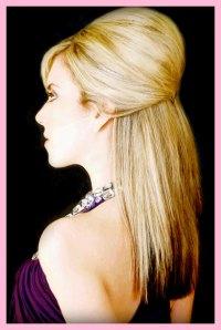 Down wedding hair style for straight hairany ideas?