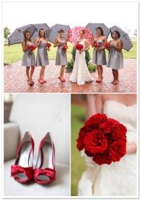 Tuxes with gray bridesmaid dresses?? - Weddingbee