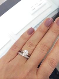 Tiffany Setting + wedding bands
