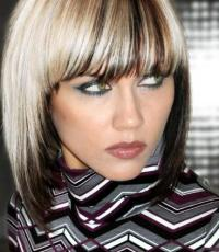 Need CLASSY inspiration Platinum and Brown TWO TONE HAIR ...