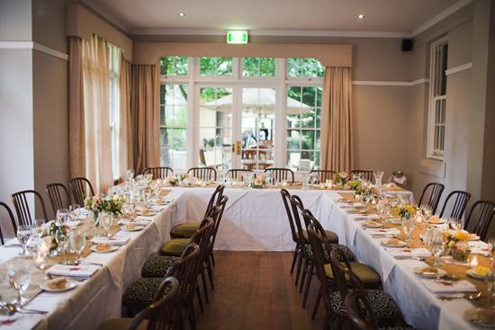 wedding reception tables layout - Josemulinohouse - wedding reception setup with rectangular tables